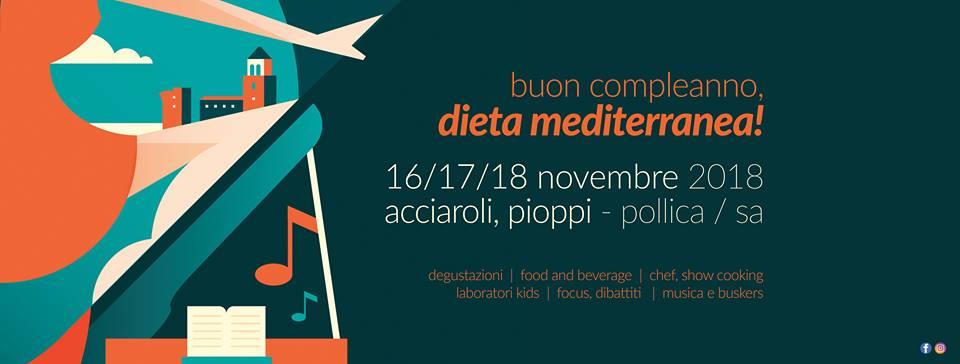 Buon compleanno, dieta mediterranea banner