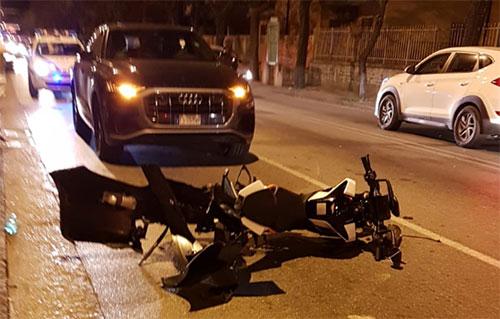 Polizia_lungomare_Marconi_incidente_moto