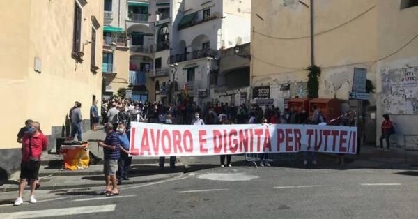 PROTESTA AMALFI