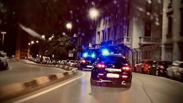 carabinieri sera notte inseguimento-2