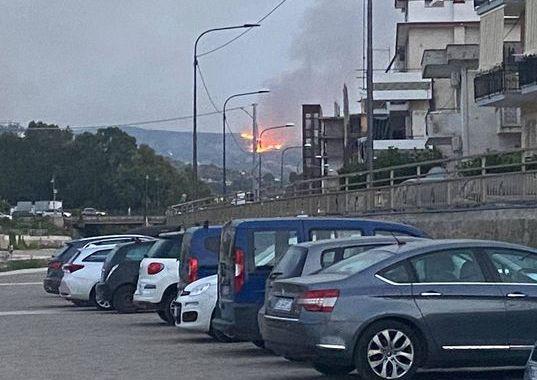 Incendio via 1