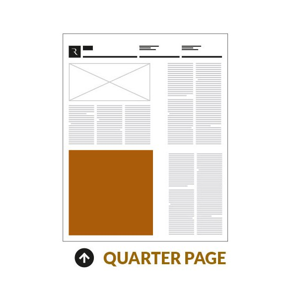 The Clipper Print Edition 1/4 Page Advertisement