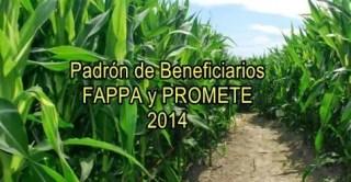 Proyectos aprobados Fappa y Promete