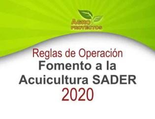 Acuicultura SADER 2020