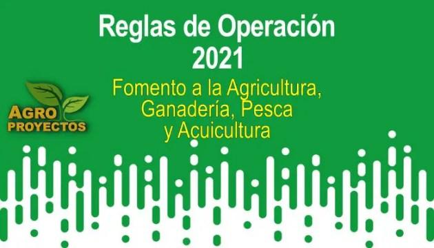 Programa de Fomento a la Agricultura y ganaderia