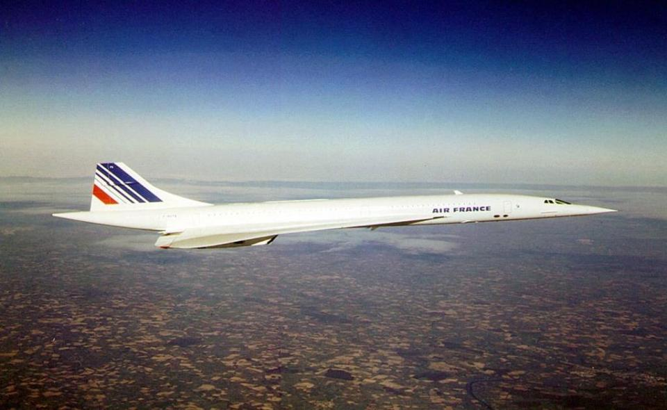 While Air France initiated service between Paris and New York.