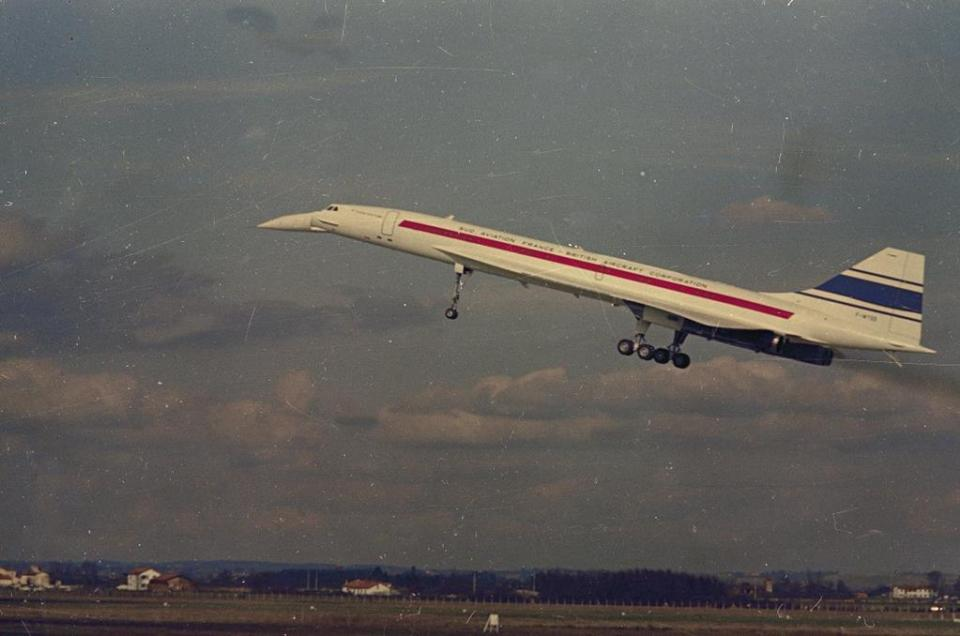 The first Concorde prototype made its maiden flight in March 1969.