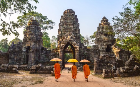 "Adventurous travelers may flock here for Khmer ruins and mountainous jungle terrain, but they stay for the inherent peace and tranquility, found in the Buddhist temples such as Angkor Wat and practiced by the Cambodian citizens. ""Kind, calm, and helpful,"" said one reader about their encounter with the locals. Don't bypass Ta Prohm, a ruin brought to life by the strangler figs and silk roots trees growing throughout. Score: 90.667"