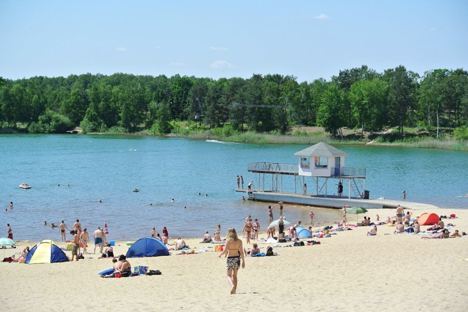 Beach at Am Bernsteinsee - Berlin