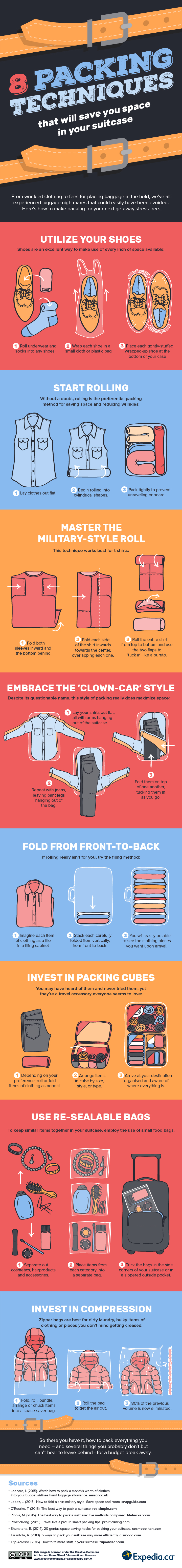 Packing Tips and Advice