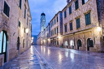 Dubrovnik empty streets