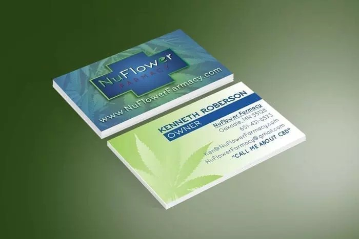 NuFarmacy Business Cards