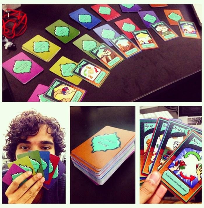 "Cards from ""The Way"" (Mahmoud Zaini)"