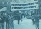 El franquismo respondió a las protestas por los fusilamientos con la última manisfestación en la Plaza de Oriente