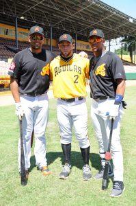 Francisco Peña, Juan Carlos Pérez y Jose Fernández
