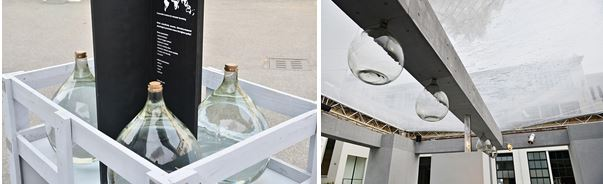 Rainhouse 1:1 Model in Milan