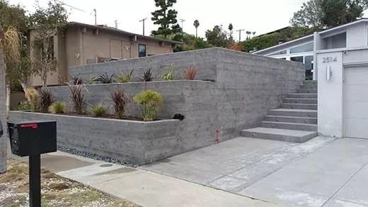 Concrete Retaining Walls in San Diego | Agundez Concrete