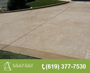 concrete driveway contractor in san diego