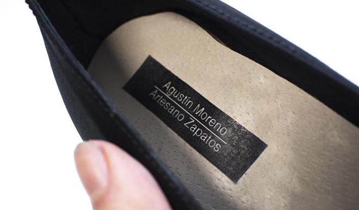 zapato S XVIII, zapato hogueras, zapato fogueres, novia alicantina, agustin moreno artesano zapatos, alicante, hogueras, fogueres