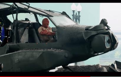 Behind The Scene Rampage 2018 – Dwayne Johnson