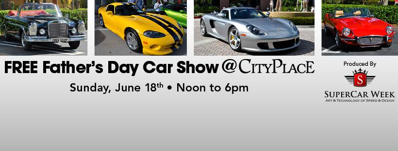 Fathers Day Events Around Downtown AGuyOnClematis - Car show west palm beach