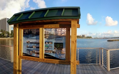 National Recycle Day: Building the South Cove Natural Area #AmericaRecyclesDay