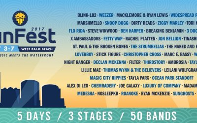 Sunfest 2017 Lineup is here – Headlining Blink 182 + ! #SunFestFL