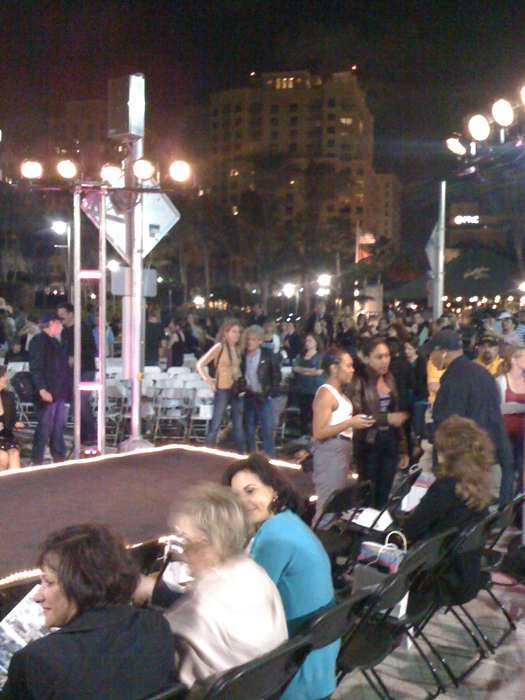 Pucci Fashion Show at the West Palm Beach Waterfront