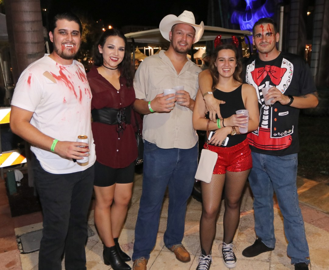 Cowboy got 2 drinks and 0 girls :( at Moonfest 2019 (photo by: Mike Jalches)