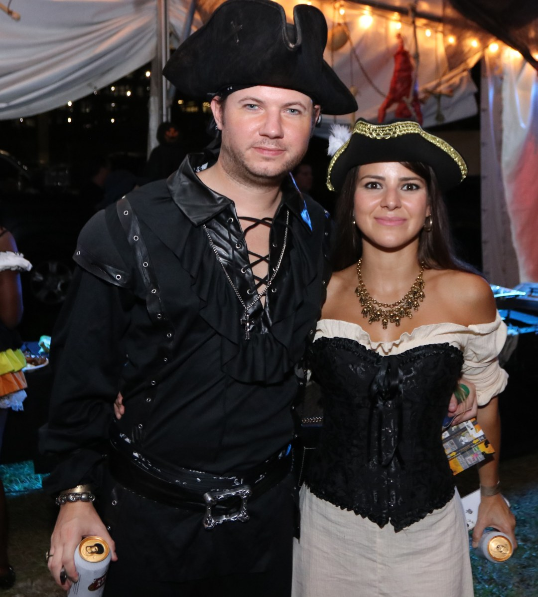 A couple of pirates at Moonfest 2019 (photo by: Mike Jalches)