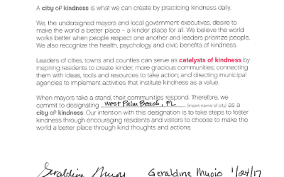 50 Ways to spread Kindness in West Palm Beach