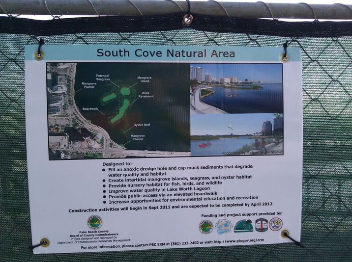 The plan for the South Cove Natural Area