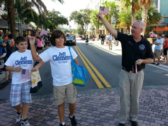 State Senator & former Lake Worth Mayor, Jeff Clemens