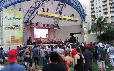 The best of Social Media on Day 1 of #SunFest14