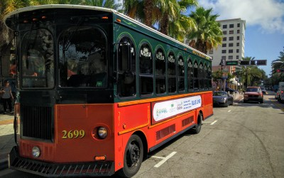 Blue Line Trolley Opens Connecting Clematis Street to Northwood and Palm Beach Outlet Mall