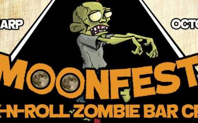 Thusday's EXTREMELY precise Rock n' Roll Zombie Crawl Itinerary & Deals