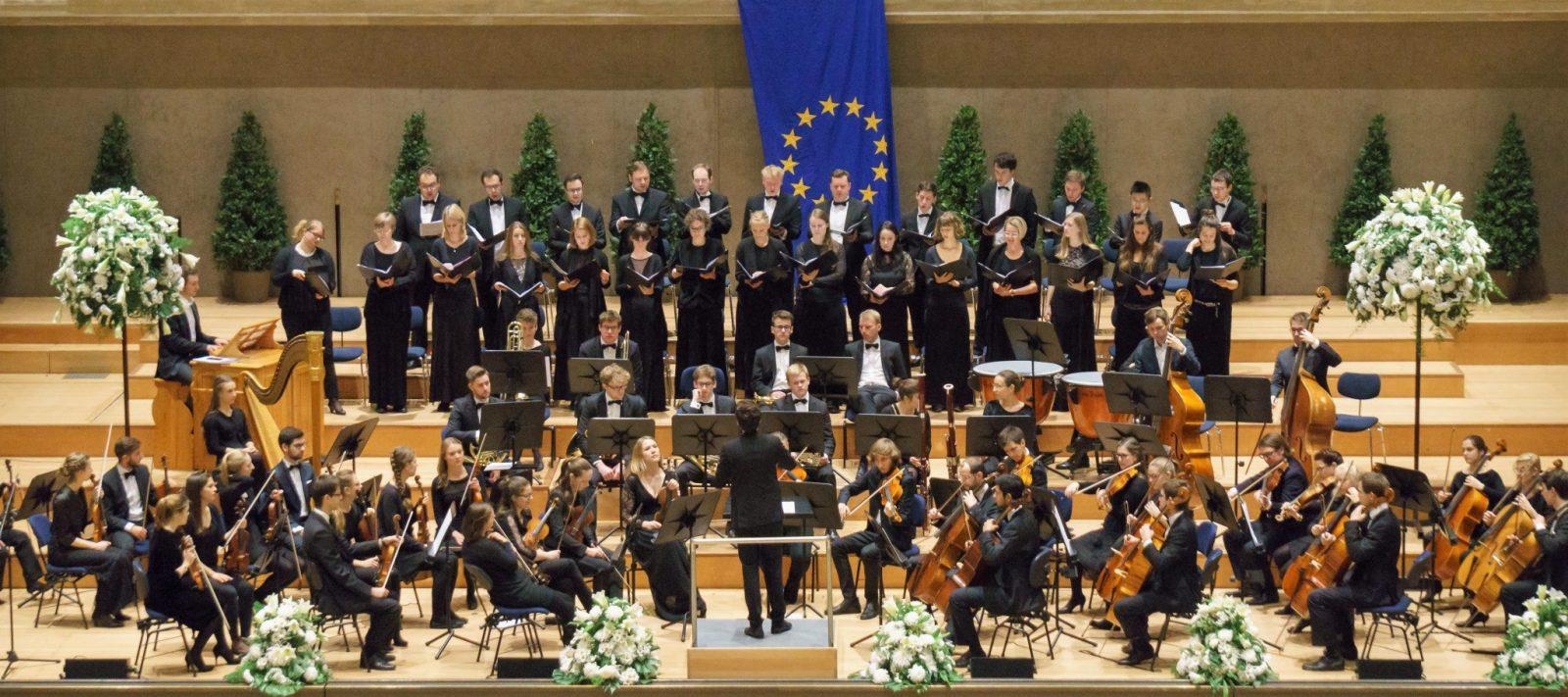 Junger AGV Chor im Münchner Herkulessaal