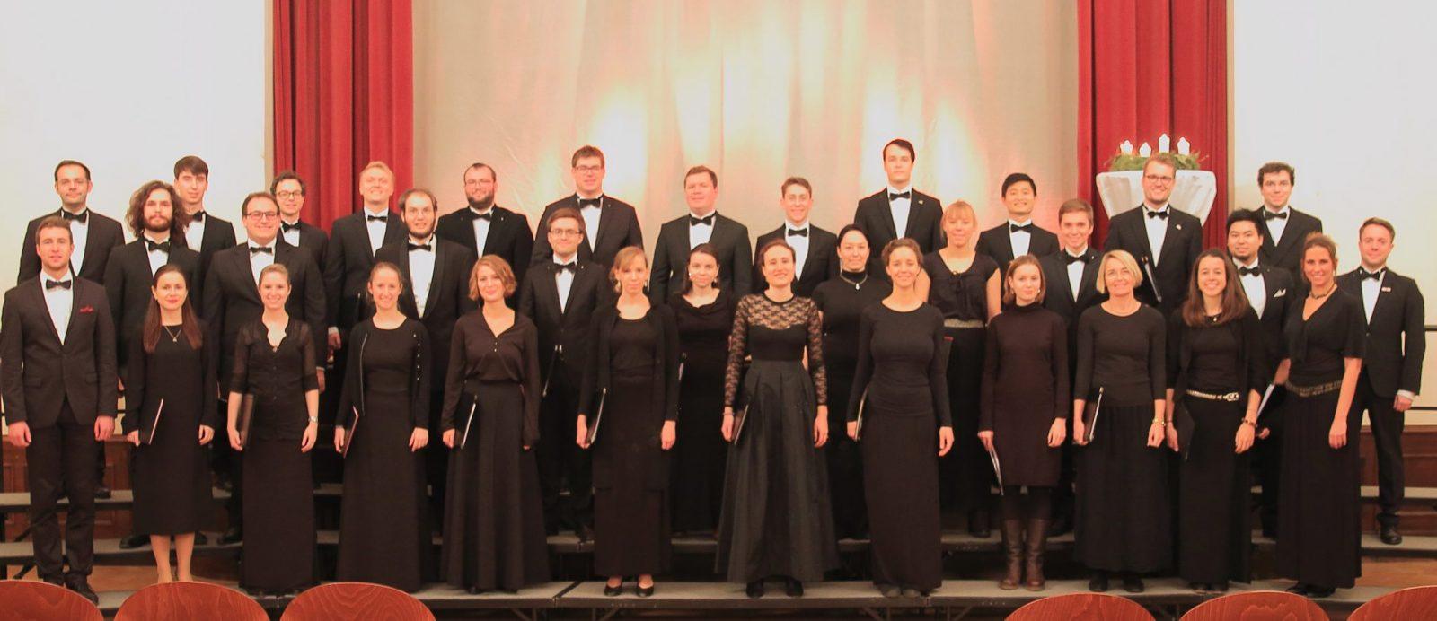Konzertfoto Junger Chor 2016