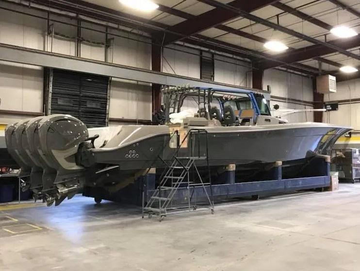 New Center Console Custom Boat Hydrasports 53 Suenos