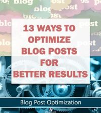 Ways to optimize blog posts for bloggers