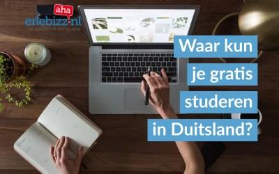 Waar kun je gratis studeren in Duitsland?