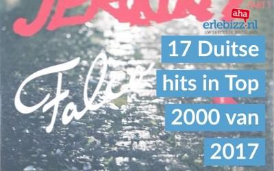 17 nostalgische Duitse nummers in de Top 2000.