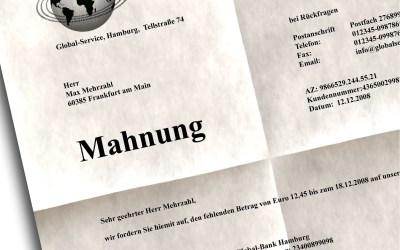 Bijna 50 procent van online ondernemers in Duitsland betaalde in 2017 duizenden Euro Abmahnboetes
