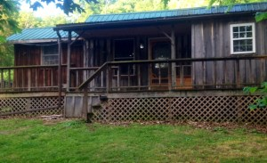 The cabin today.