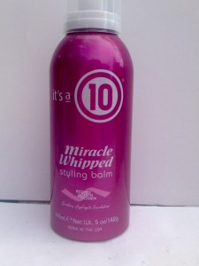 """""""it's a 10"""" Miracle Whipped Styling Balm"""
