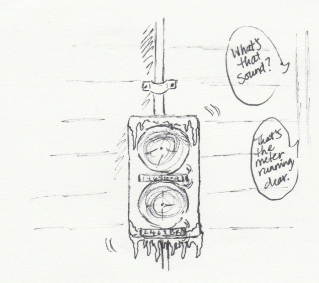 electric meter drawing