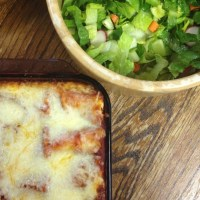 Tigger's Lasagna Rolls: Make-Ahead Printable Recipe!