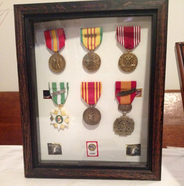 Grandaddy's medals.
