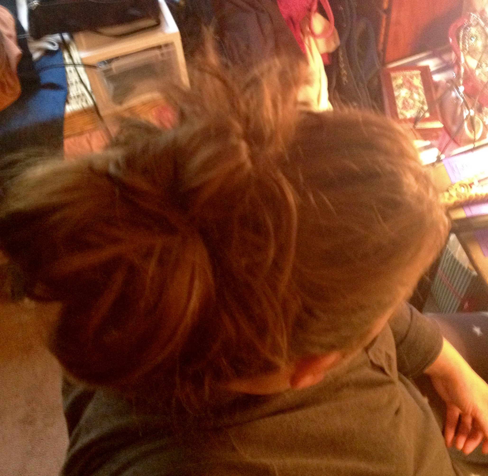Messy Bun For Thick Heavy Hair A Hair In My Biscuit