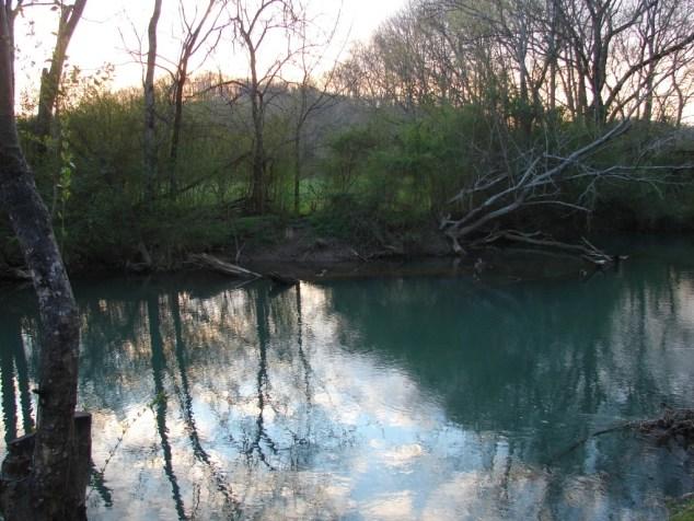 sunset on big creek